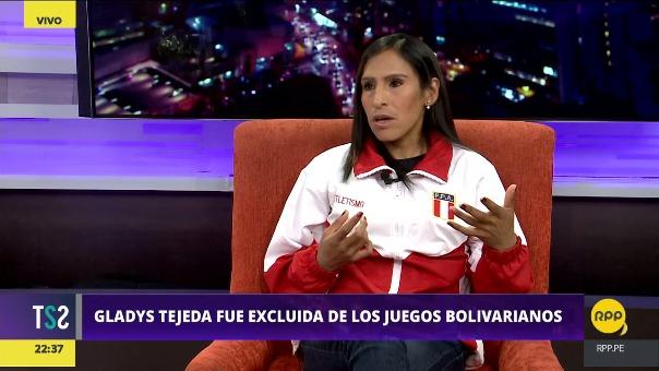 Gladys Tejeda indicó que el presidente de la Federación Peruana de Atletismo, Gustavo Cárdenas sabe que no me han convocado.