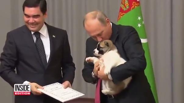 Así fue el tierno momento protagonizado por Putin.