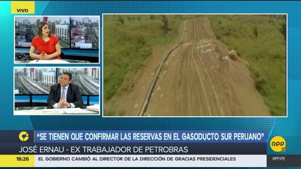 El ex funcionario de Petrobras dijo que se debe de confirmar cuánto gas existe y si realmente podrá abastecer a toda la Macro Región Sur.