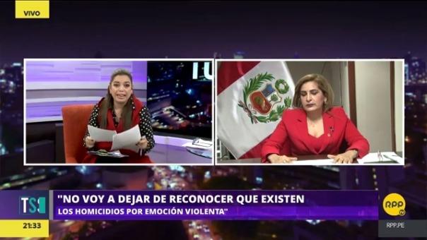 La congresista afirmó que se investigará a Iván Molina desde la Comisión de la Mujer del Congreso.