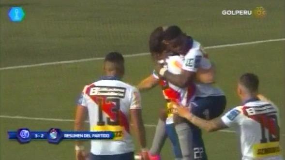 Resumen y goles del triunfo de Deportivo Municipal ante Sporting Cristal.
