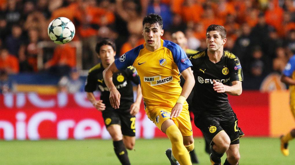 APOEL Nicosia 1-1 Borussia Dortmund