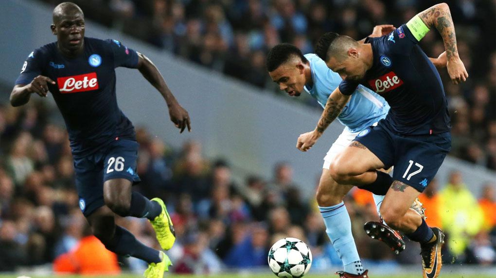 Manchester City 2-1 Nápoli