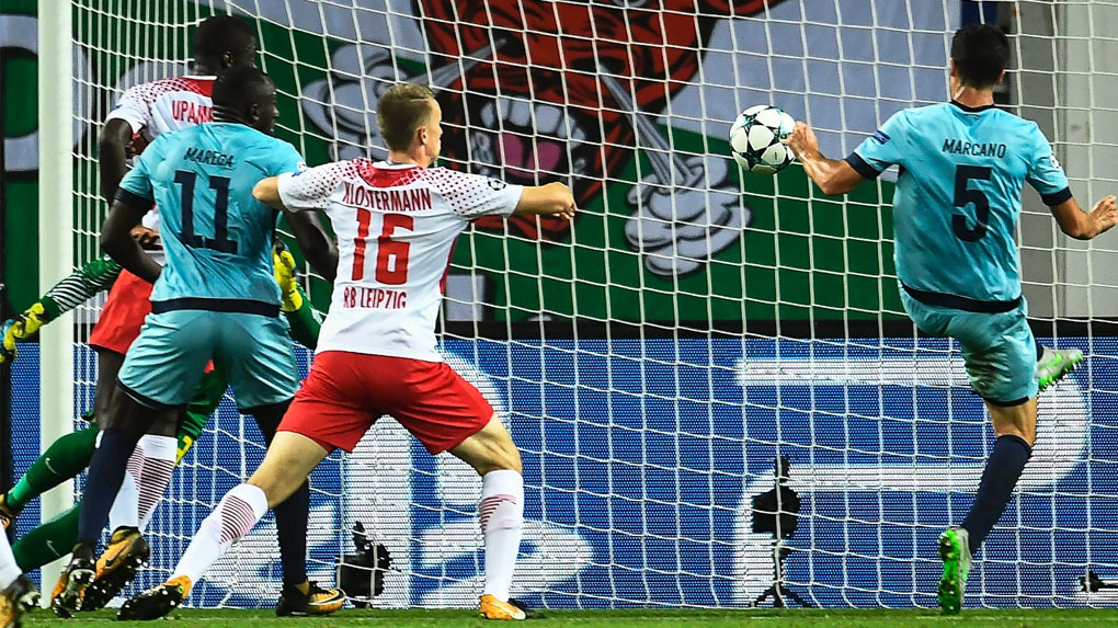 RB Leipzig 3-2 Porto