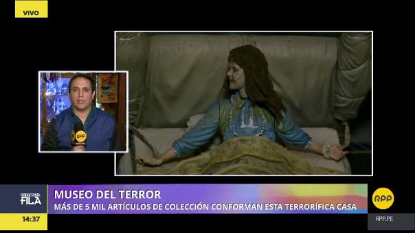 La Casa Museo del Terror abre sus puertas, previa coordinación, los sábados y domingos.