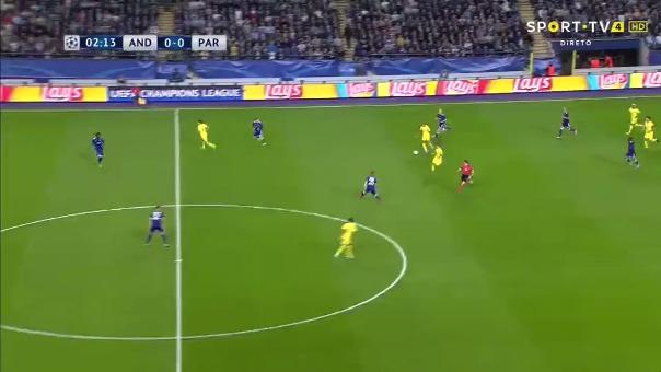 Anderlecht 0-4 PSG.