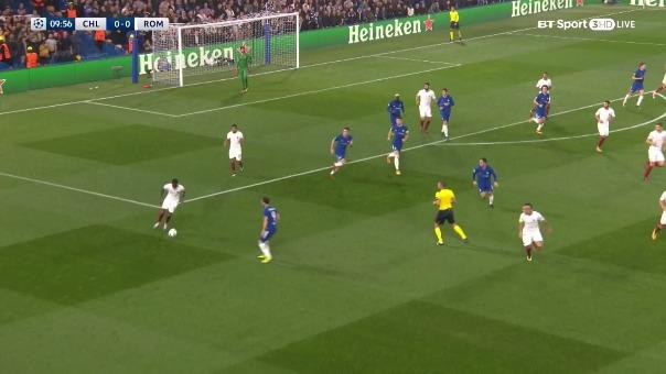 Chelsea 3-3 Roma.