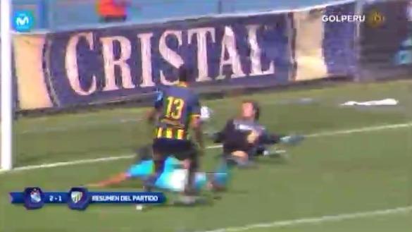 Revisa el resumen del Sporting Cristal 2-1 Sport Rosario.