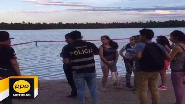 Joven antropólogo ingresó a la laguna sin saber nadar. A pesar que intentaron ayudarlo llegó cadáver al hospital.