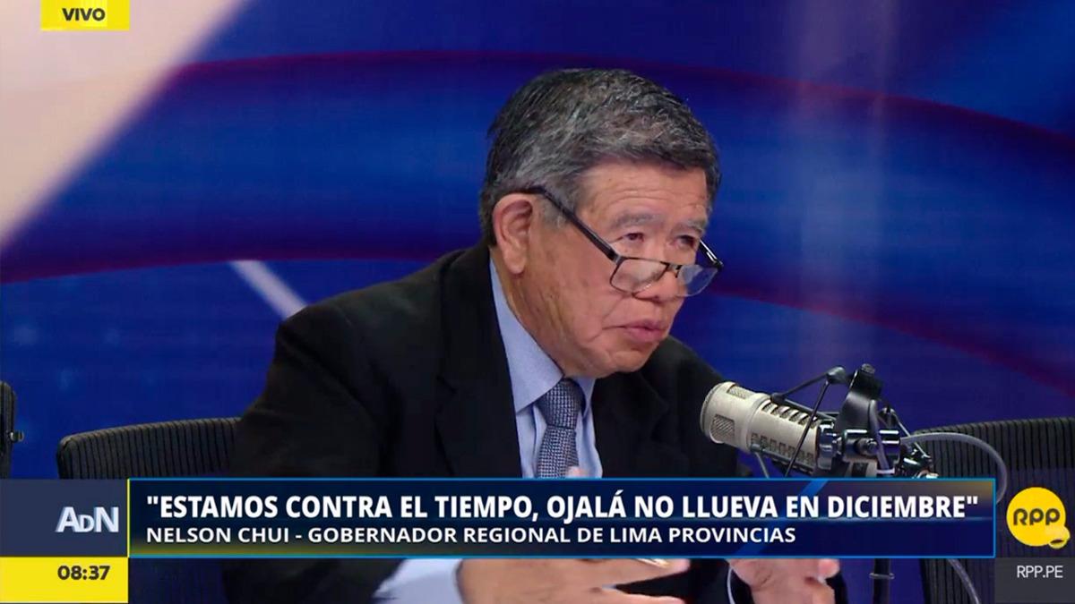 Nelson Chui habló en RPP sobre su preocupación por la demora en las obras de la reconstrucción en su región.
