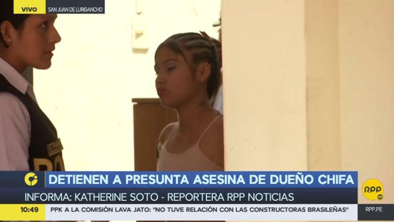 Tras matar al cocinero, Shirley Silva Padilla se escondió en un hotel de la capital.