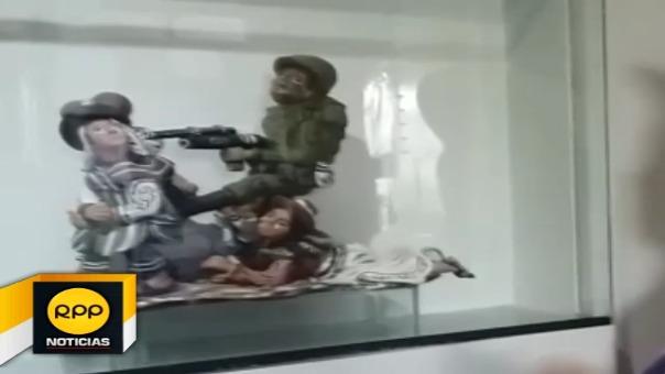 Presidenta de la Anfasep mostró su sorpresa luego que agente policial visitara museo tras denuncia de apología al terrorismo.