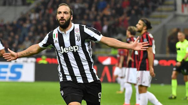 Gonzalo Higuaín llegó a Juventus en 2016 por 90 millones de euros.