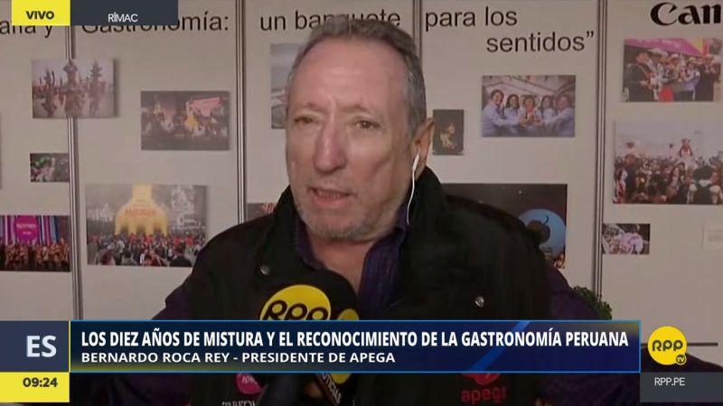 Bernardo Roca Rey resaltó las novedades de Mistura 2017, que se desarrolla hasta el 5 de noviembre en el Club Revolver del Rímac.