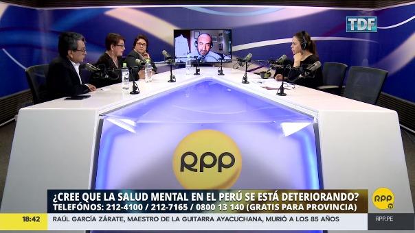 RPP realizó un programa especial en el que se analizó la salud mental en el Perú.