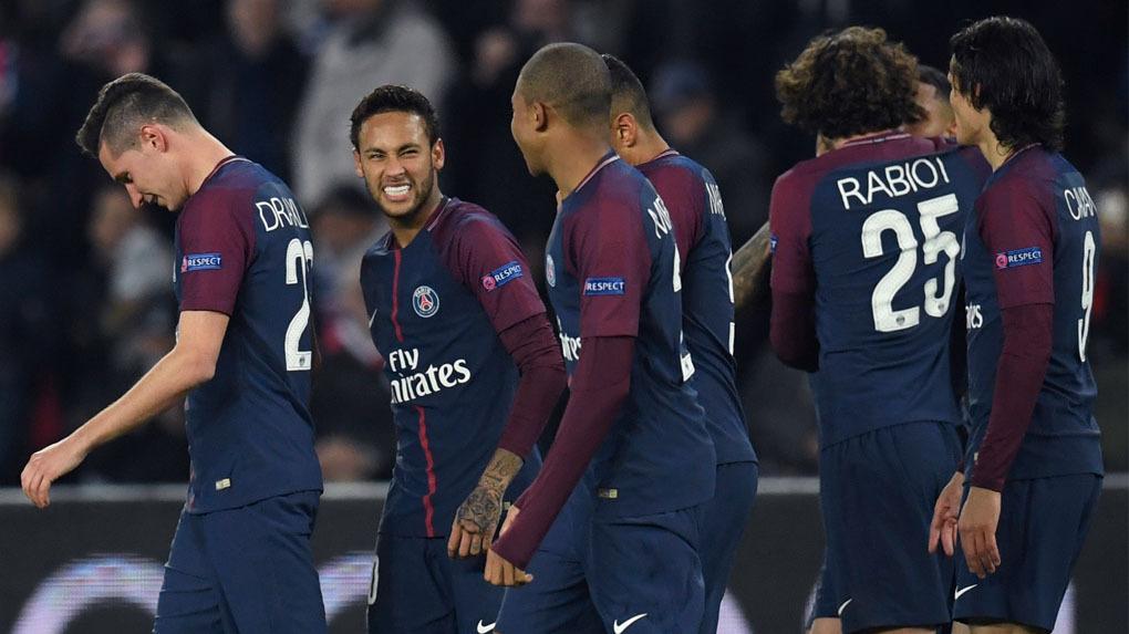 El PSG sumó su cuarto triunfo consecutivo en la Champions League.