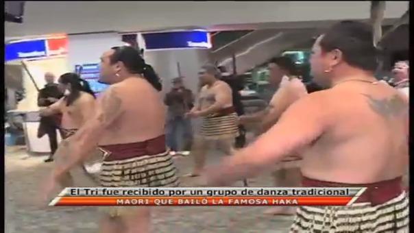 Los neozelandeses recibieron a los mexicanos con el haka en el 2013.