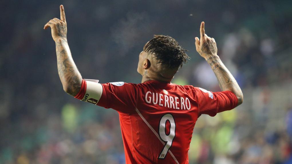 Paolo Guerrero no jugará la ida del repechaje ante Nueva Zelanda.