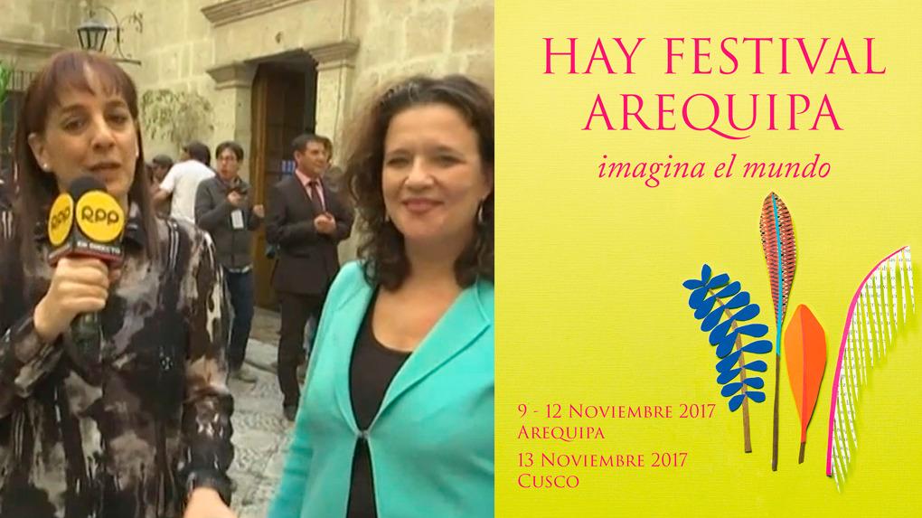 Es la tercera edición de Hay Festival en Arequipa y la primera en Cusco.