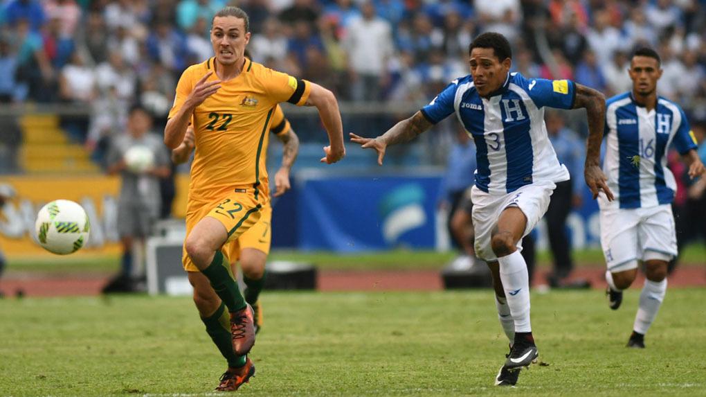 Honduras empató sin goles ante Australia y todo se definirá el próximo miércoles.