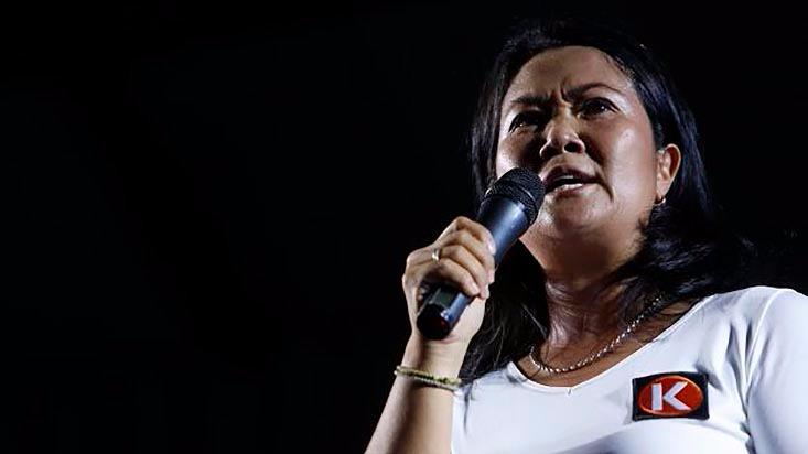 Keiko Fujimori acusó al diario El Comercio de mentir y anunció que iniciará medidas penales contra ese medio.