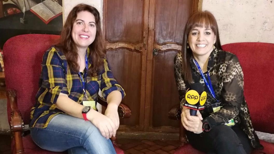 RPP Noticias conversó en exclusiva con Laura Fernández, autora española de