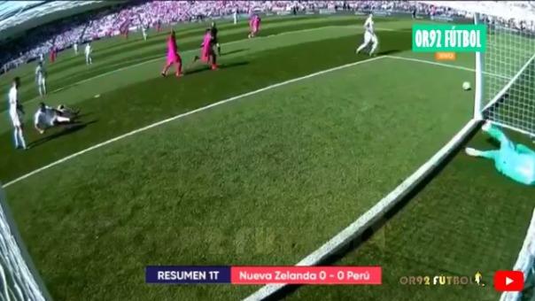 Revisa el resumen del Nueva Zelanda 0-0 Perú por el repechaje a Rusia 2018.