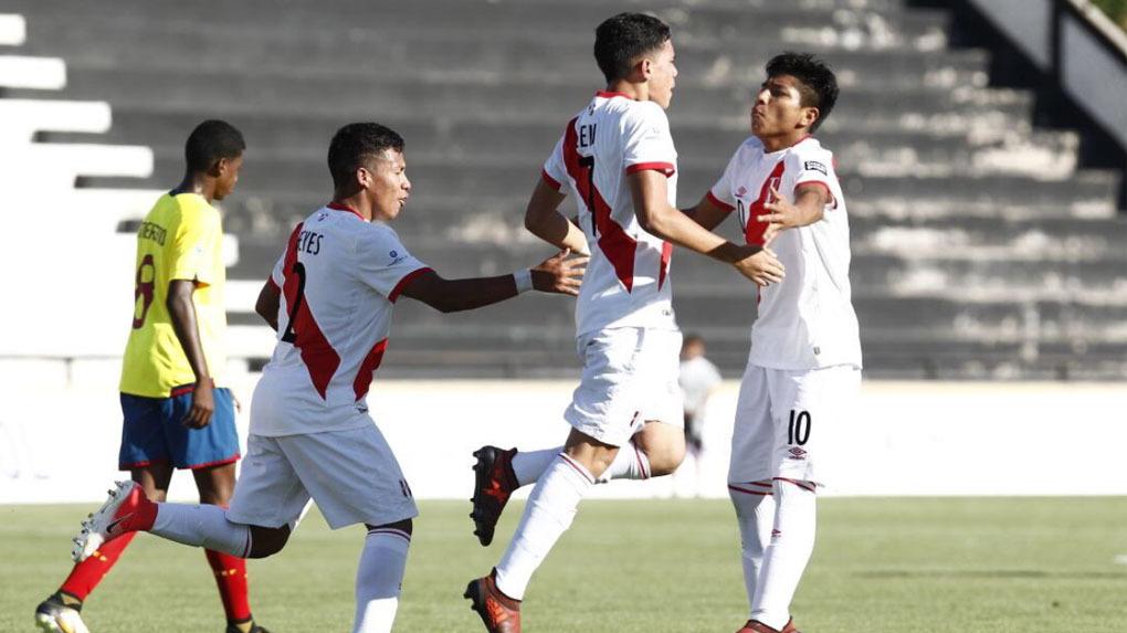 Selección peruana Sub-15 empató con Ecuador y se mantiene invicta en Sudamericano.