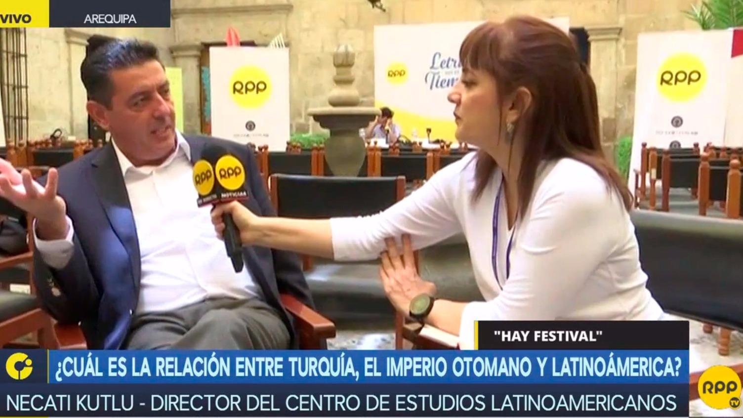 Patricia del Río conversó con Necati Kutlu, director del Centro de Estudios Latinoamericanos.