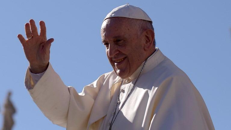 Faltan solo 66 días para la llegada del sumo pontífice.