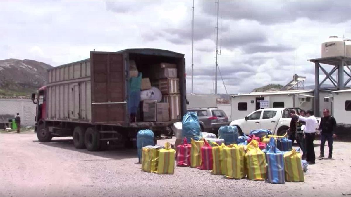 Productos pirotécnicos en Ayacucho.