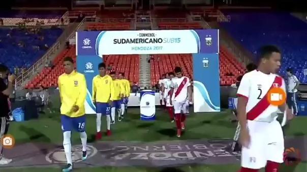El resumen del Brasil vs. Perú en Mendoza.
