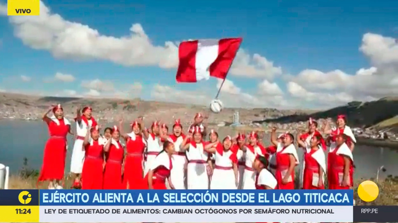 El Ejército alentó a la Selección desde Puno