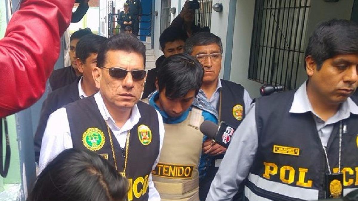 Percy Peralta se encuentra en la carceleta del Palacio de Justicia en Cusco y en las próximas horas será internado en un penal.