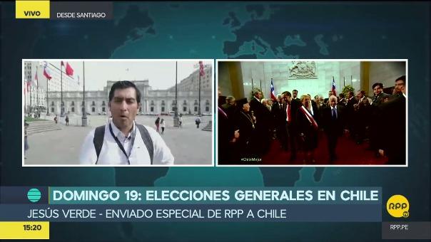 RPP Noticias ya se encuentra en Chile para cubrir el proceso electoral de este domingo.