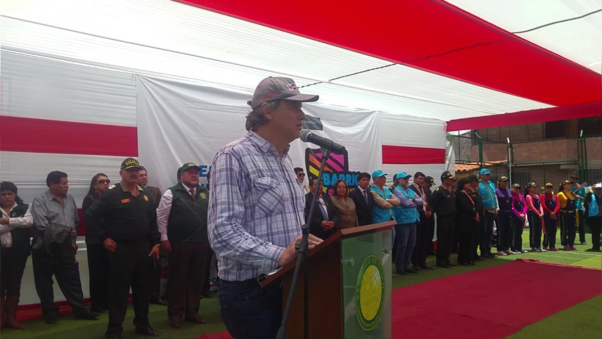 Sector de Zarzuela del distrito de Santiago será la zona donde se realicen trabajos coordinados entre la policía y juntas vecinales.