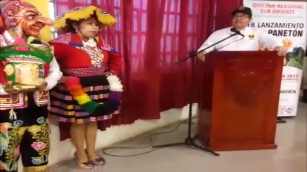 Lanzamiento de panetón Inti Raymi.