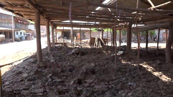 En la localidad vecina de Paucar, también hay 26 familias que han perdido sus viviendas