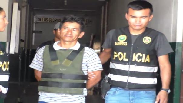 Traslado de detenido a la Divincri.