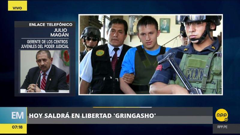 Julio Magán, gerente de Centros Juveniles del Poder Judicial, habló en RPP sobre la liberación de 'Gringasho'.