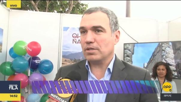 Salvador del Solar conversa con RPP Noticias