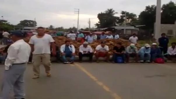 Huelga de productores arroceros.
