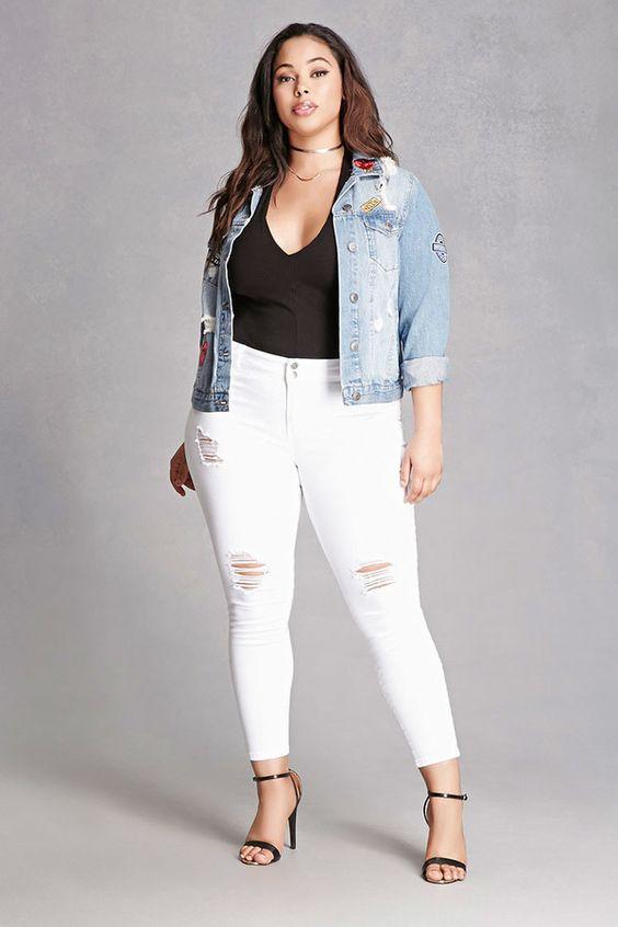 Como Usar Jeans Blancos Si Soy Gordita Rpp Noticias