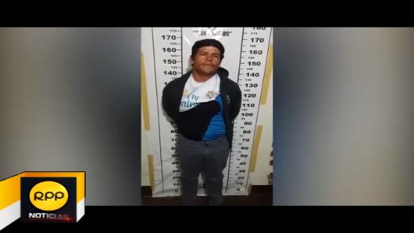 José Reyes Olórtegui Rodríguez fue requerido por el Poder Judicial de San Marcos por el delito de violación sexual
