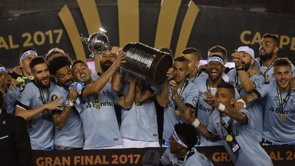Gremio le ganó 2 -1 a Lanús por el partido de vuelta de la final de la Copa Libertadores.