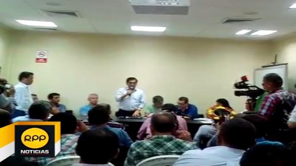 Reunión contó con la participación del ministro de Agricultura, José Manuel Hernández y representantes arroceros se llegaron a los acuerdos.