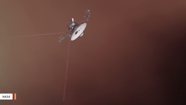 Las Voyager 1 y 2 hace poco cumplieron 40 años de haber sido lanzadas al espacio.