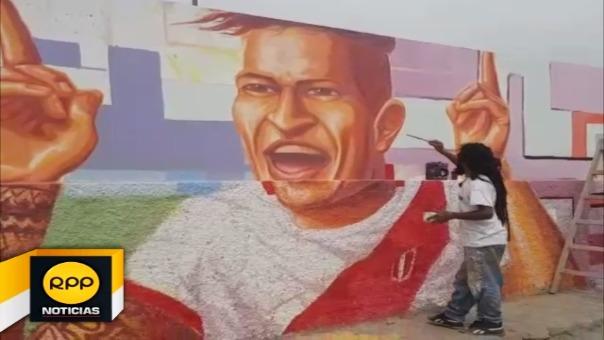 Con estos murales, se busca involucrar a jóvenes y niños con el arte y el deporte.
