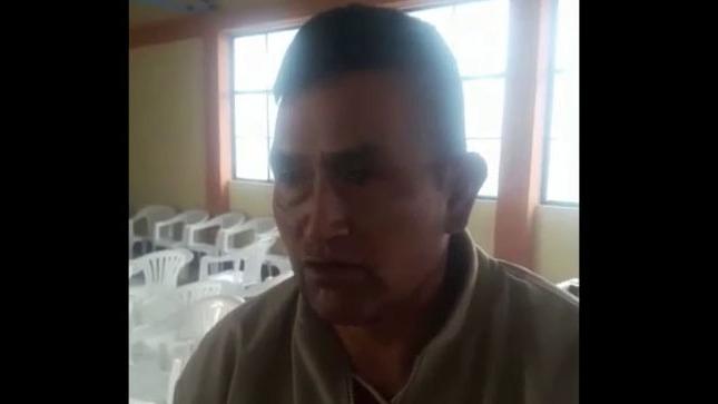 Alejandro Herrera Flores confiesa a las rondas que mató a su nuera y a sus dos nietos.