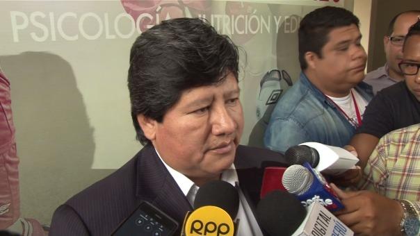 Edwin Oviedo se refirió a la extensión de la sanción provisional de la FIFA a Paolo Guerrero.